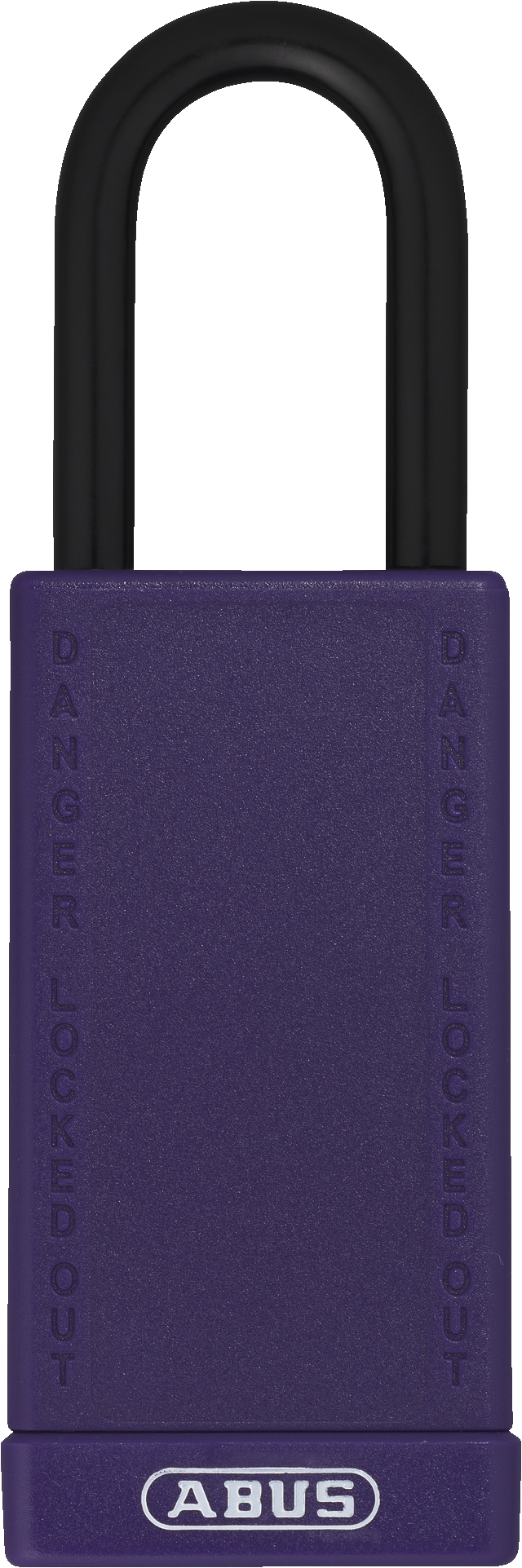 Vorhangschloss Aluminium 74LB/40 violett