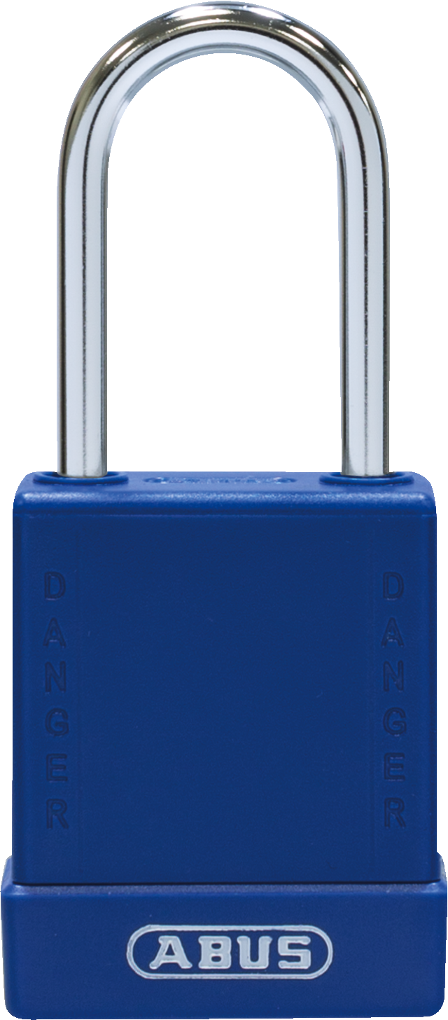 Vorhangschloss 76BS/40 blau