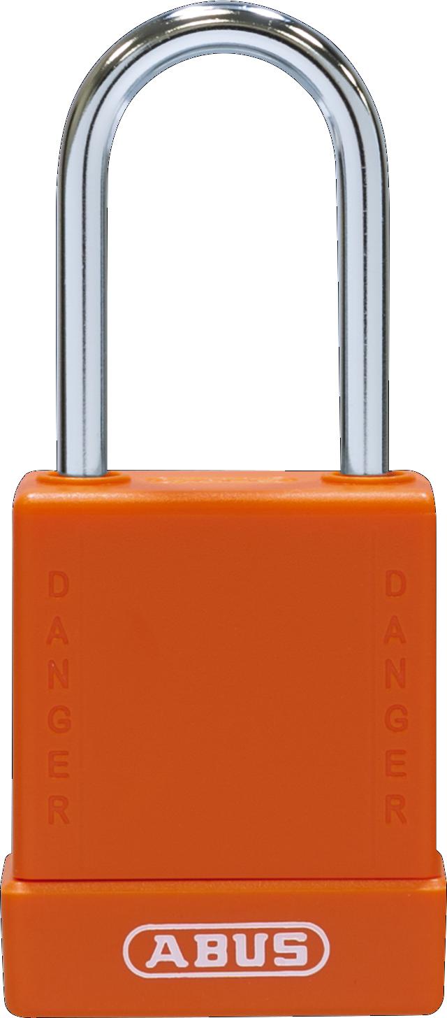 Vorhangschloss 76BS/40 orange