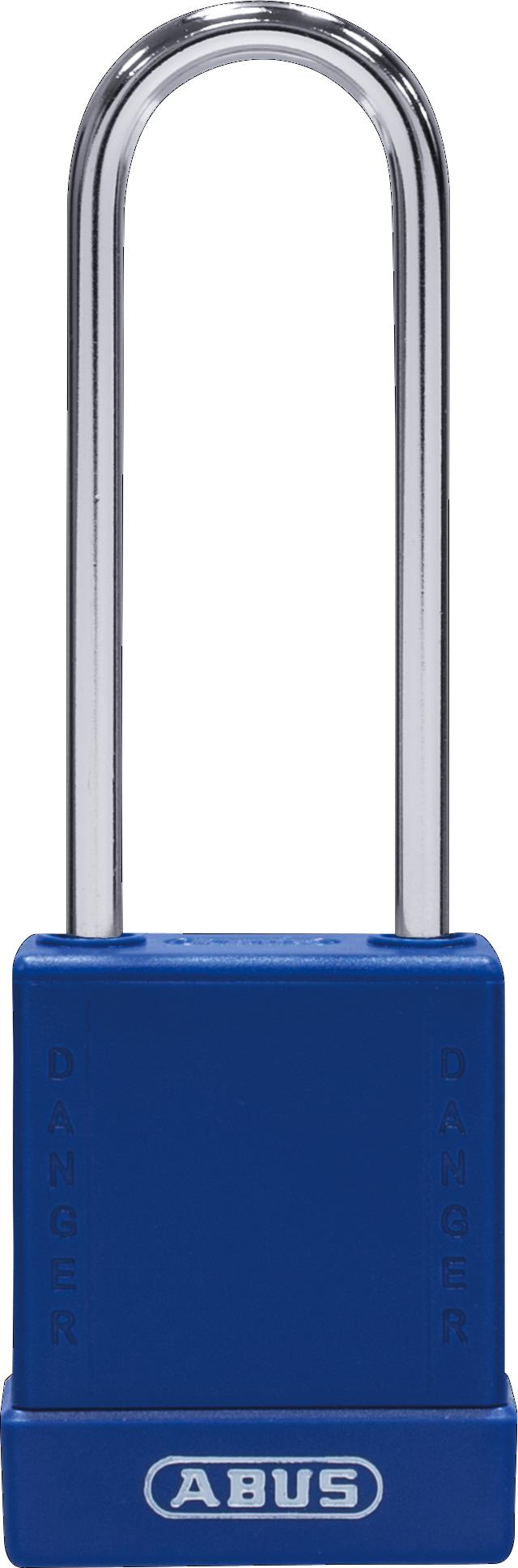 Vorhangschloss 76BS/40HB75 blau