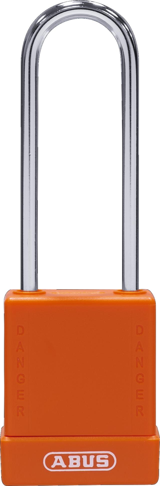 Vorhangschloss 76BS/40HB75 orange