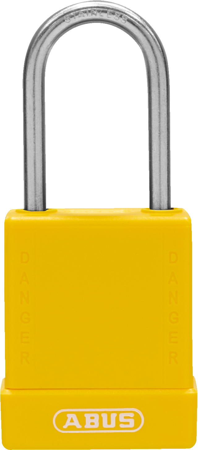 Vorhangschloss 76IB/40 gelb