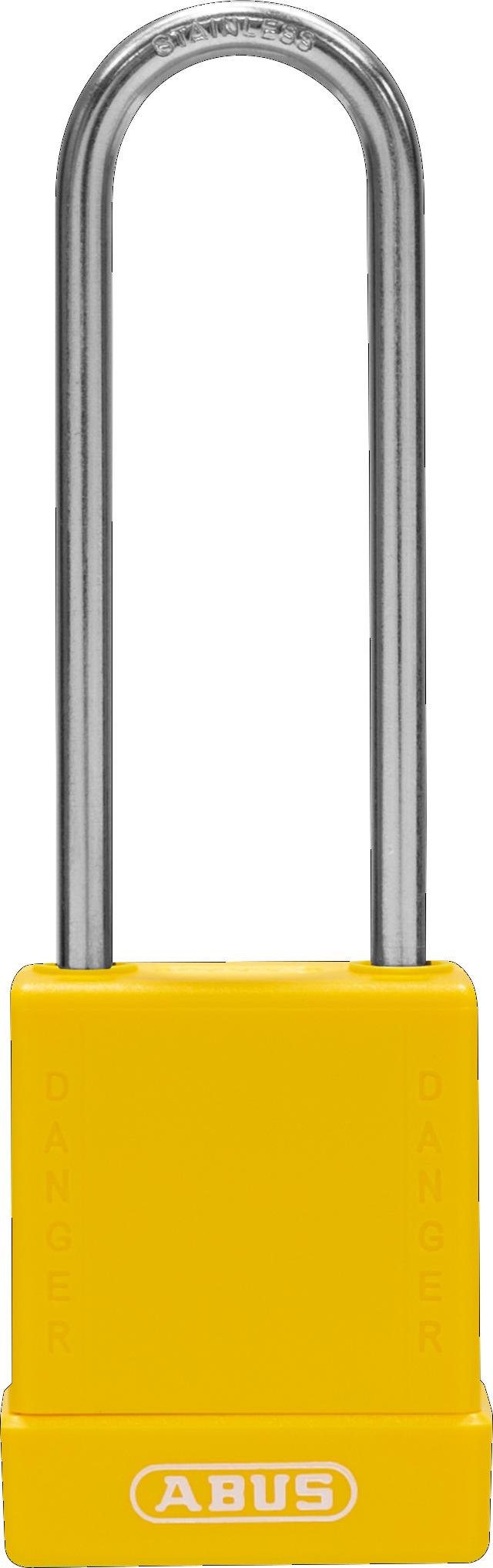 Vorhangschloss 76IB/40HB75 gelb