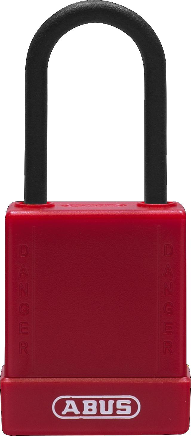 Vorhangschloss 76PS/40 rot