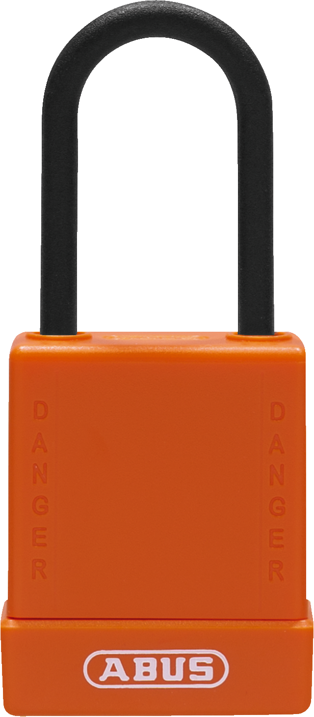 Vorhangschloss 76PS/40 orange