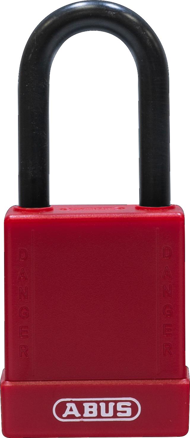 Vorhangschloss 76/40 rot
