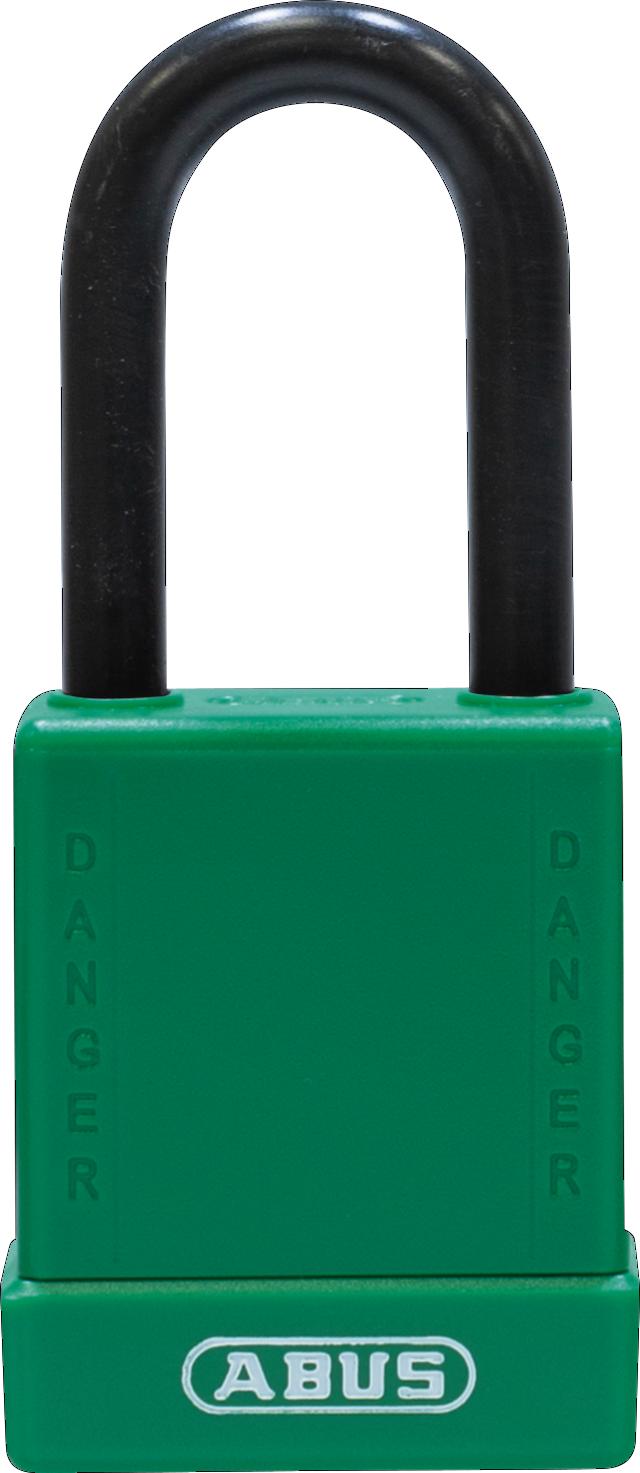 Vorhangschloss 76/40 grün