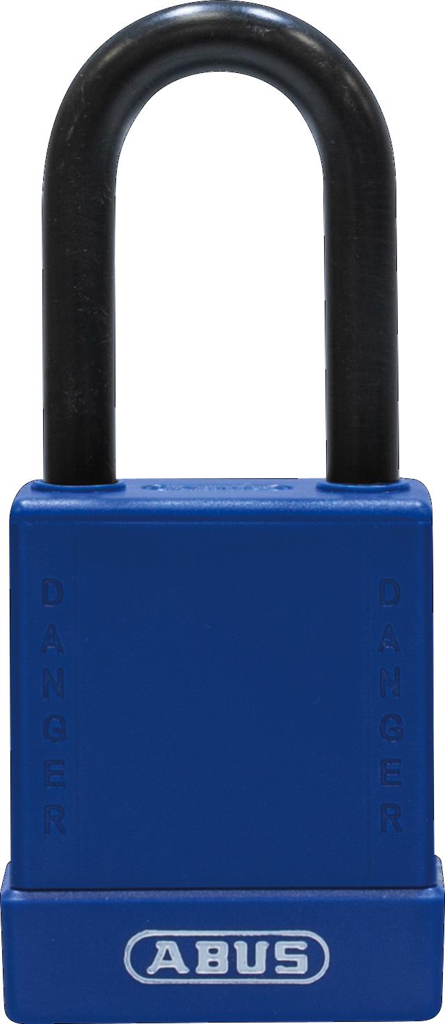Vorhangschloss 76/40 blau