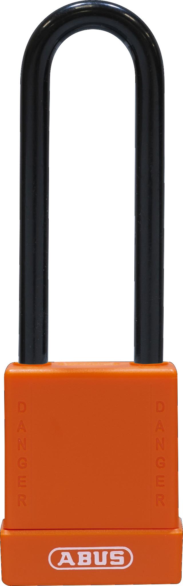 Vorhangschloss 76/40HB75 orange