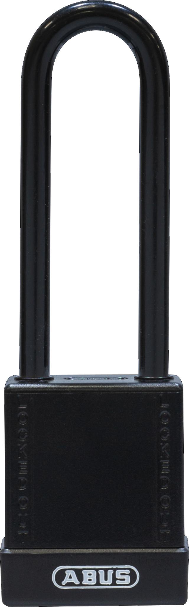 Vorhangschloss 76/40HB75 schwarz