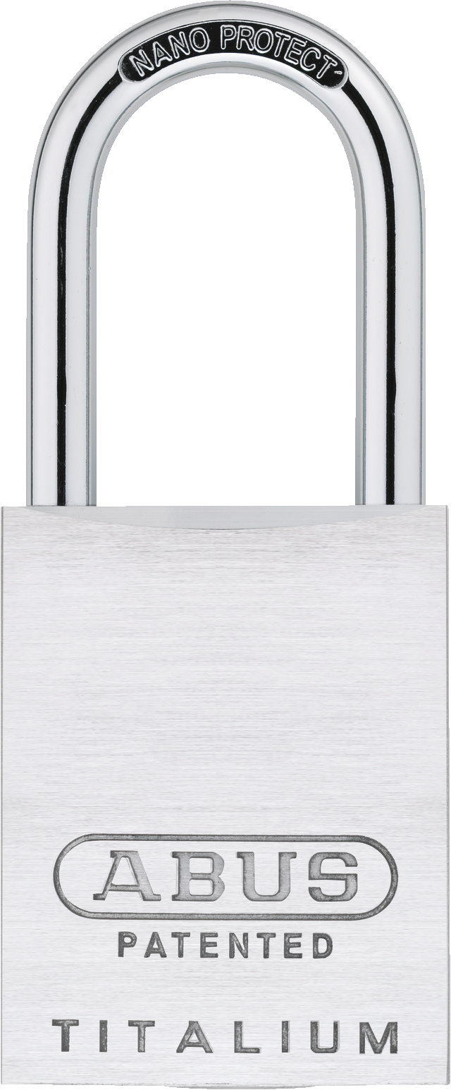 Vorhangschloss Aluminium 83ALIB/40HB75 silber