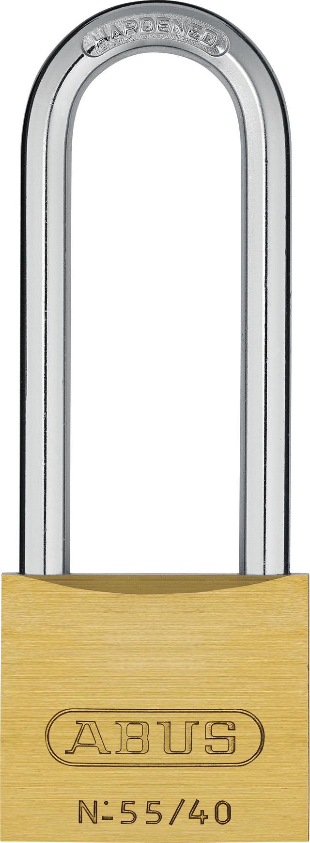 Kłódka mosiężna 55/40HB63 ka.-5402