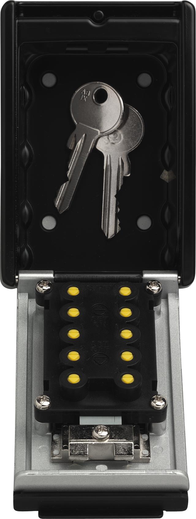 KeyGarage 767 offen mit Schlüsseln