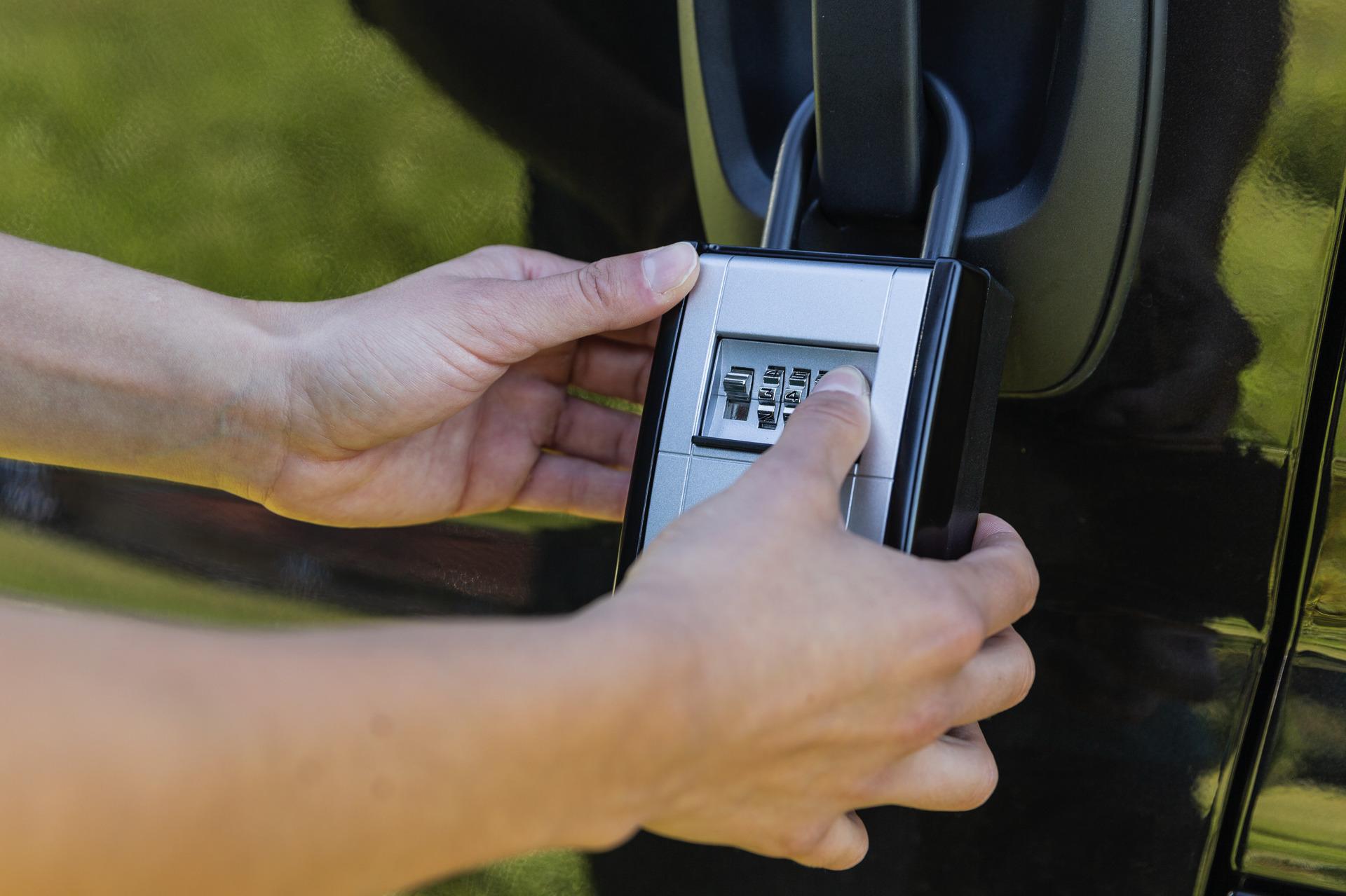 Anwendungsbeispiel - Schlüsselkasten KeyGarage™ 797