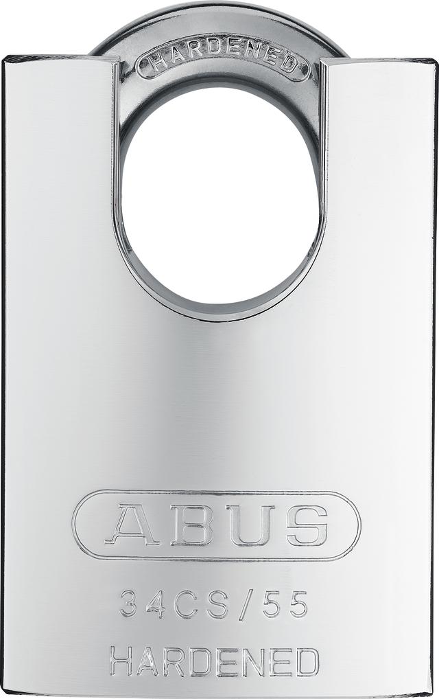 Vorhangschloss Stahl Platinum 34CS