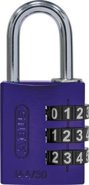 144/30 lila Lock-Tag