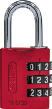 144/30 rot Lock-Tag
