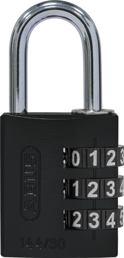 144/30 schwarz Lock-Tag