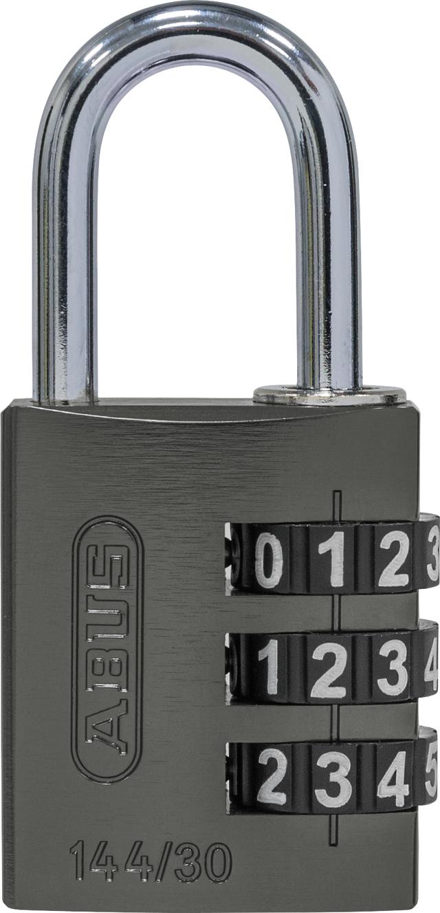 Zahlenschloss 144/30 titanium B/SDKNFINPLCZHRUS