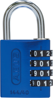 144/40 blau Lock-Tag