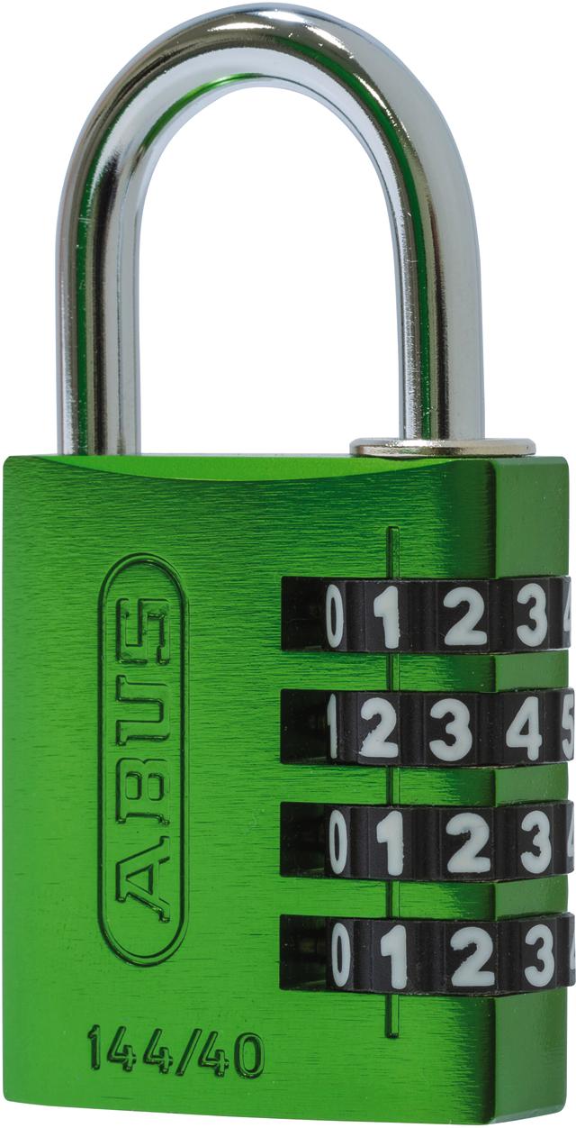 Zahlenschloss 144/40 grün B/SDKNFIN