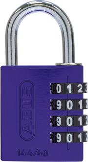 144/40 lila Lock-Tag