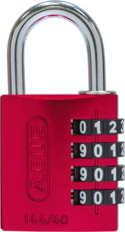 144/40 rot Lock-Tag
