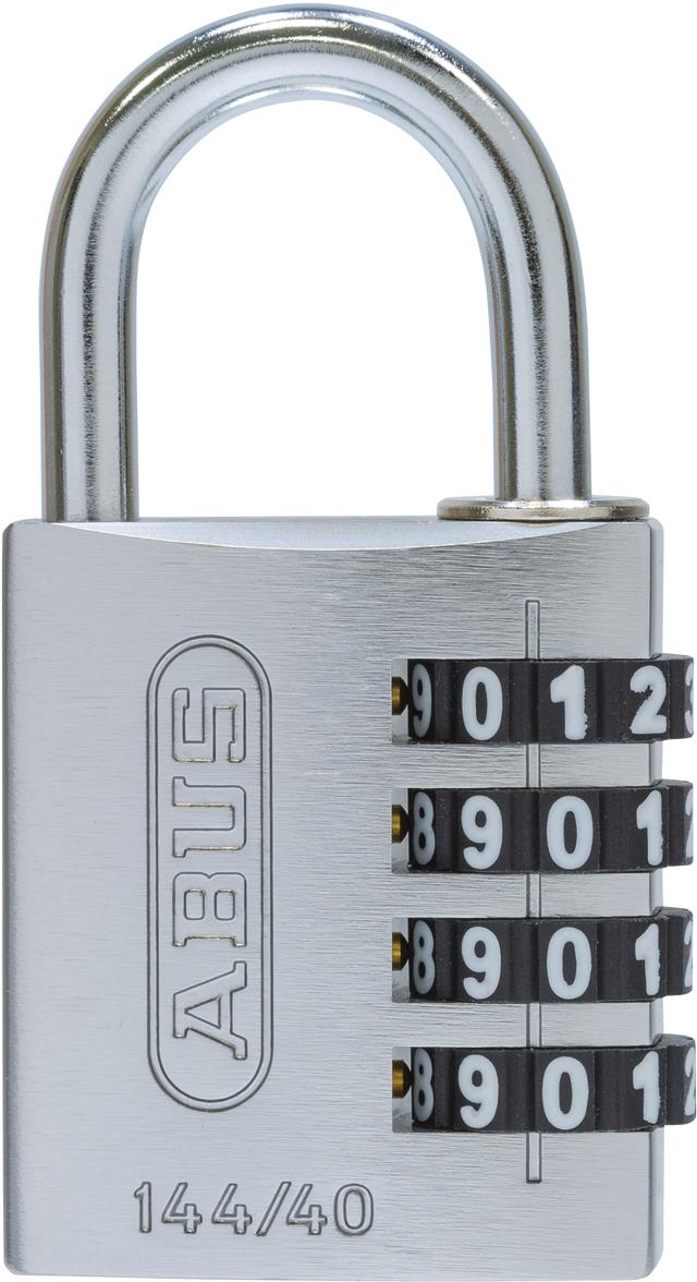 Zahlenschloss 144/40 color Metal B/EFSPP
