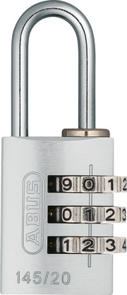 145/20 silber Lock-Tag