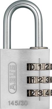 145/30 silber Lock-Tag
