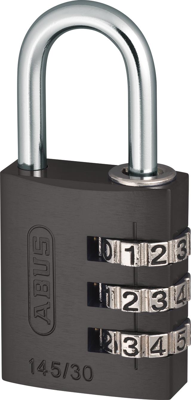 Zahlenschloss 145/30 titanium mit EAN