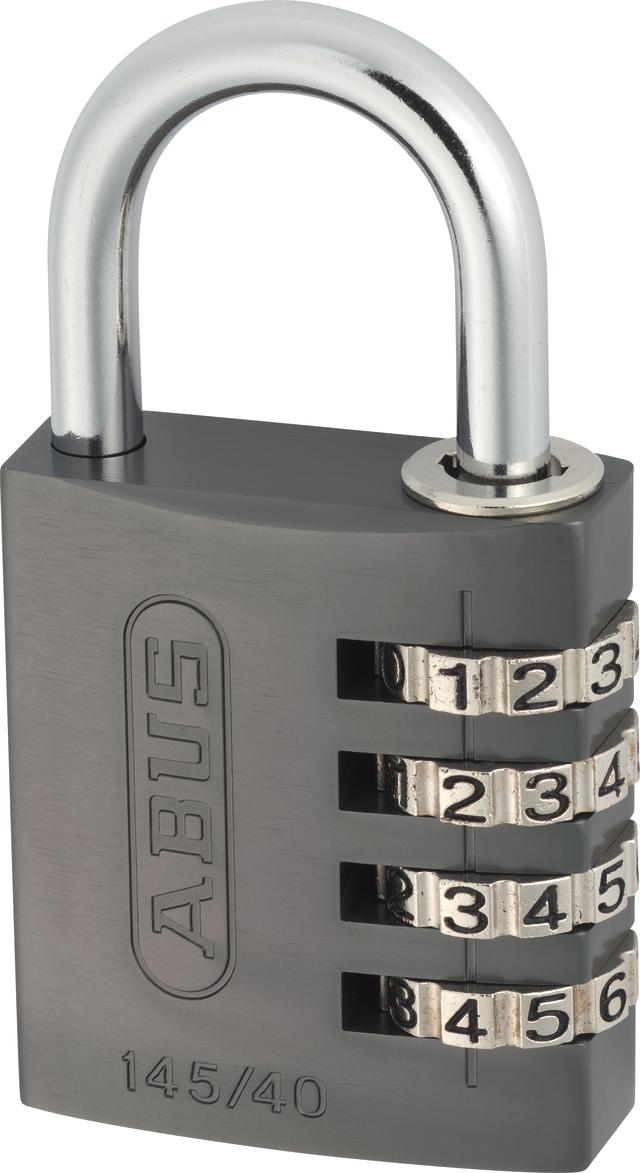 Zahlenschloss 145/40 titanium mit EAN