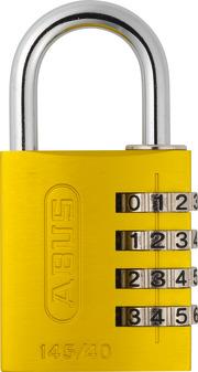145/40 gelb Lock-Tag