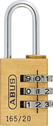 165/20 vs. Lock-Tag Komb.-Hangschloss