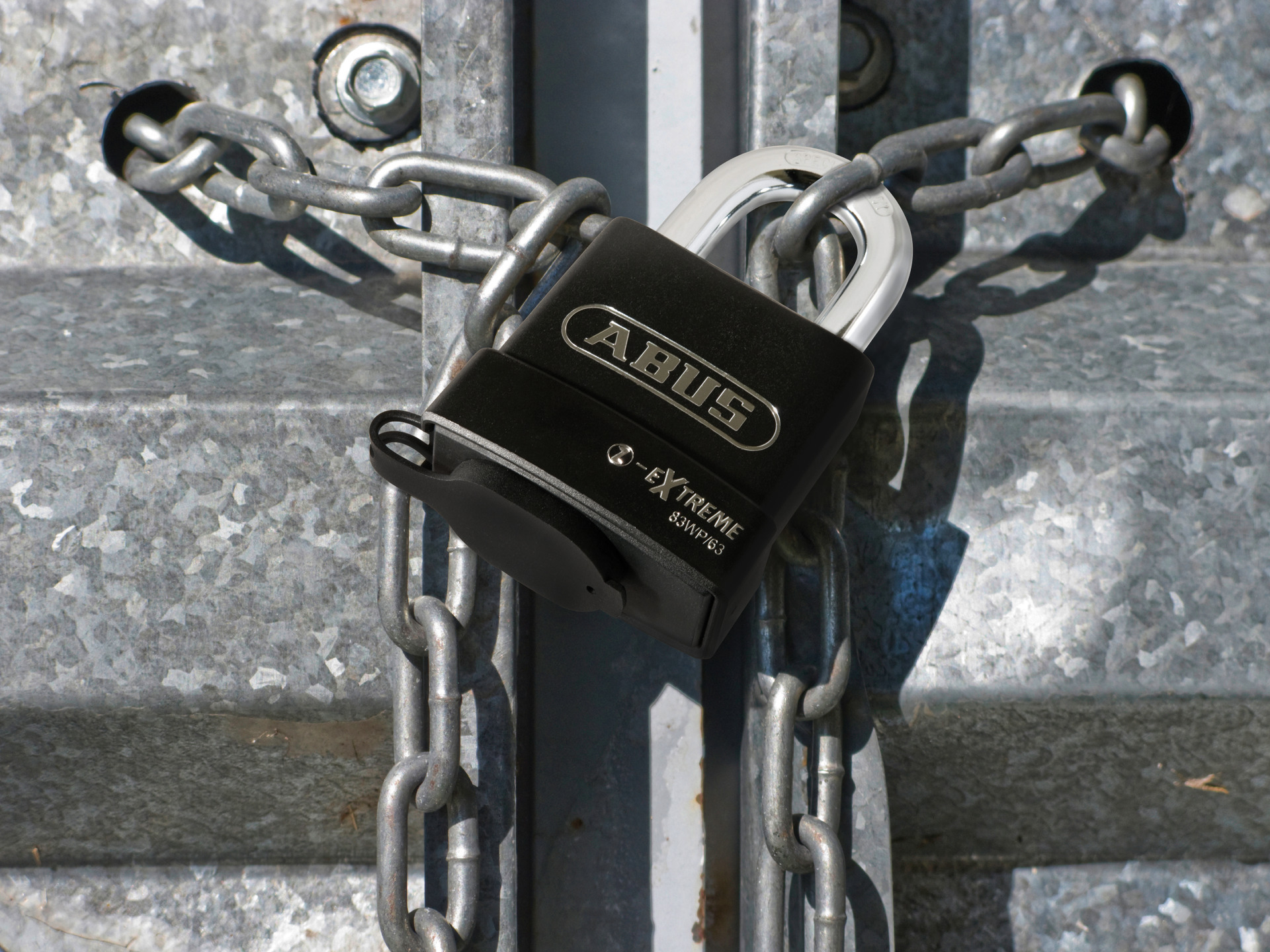 Example of application - Padlock Steel 83WP