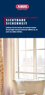 Einbrecher bevorzugen fenster brosch ren kataloge for Fenster gegen einbruch schutzen
