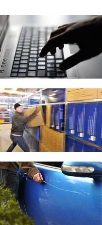 Typische Einsatzfelder für Videoüberwachung in Gewerbe und Industrie © iStockphoto.com / ABUS