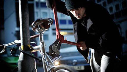 Etwa alle 100 Sekunden wird in Deutschland ein Fahrrad gestohlen. © ABUS