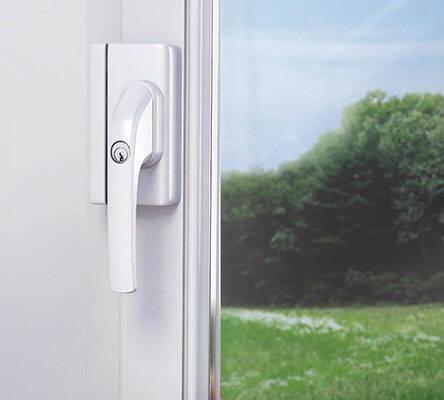 mechanische fenstersicherungen mit alarm fenstersicherheit sicherheit zuhause. Black Bedroom Furniture Sets. Home Design Ideas