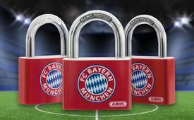 T65AL Fan-Schloss FC Bayern München © ABUS