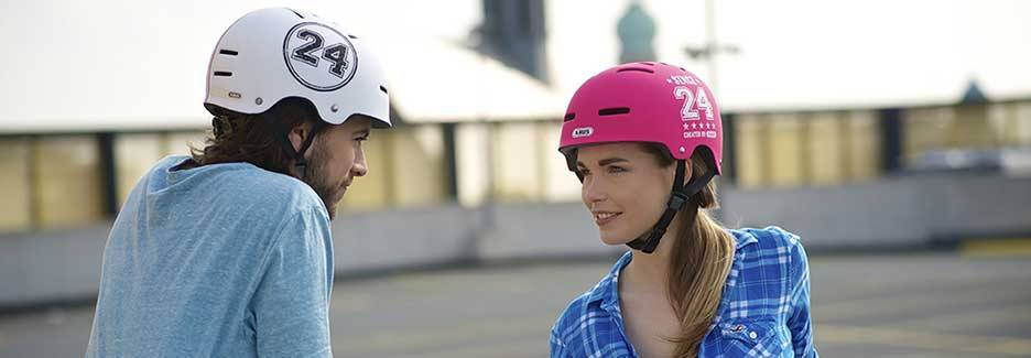 Wearing bicycle helmets for our security