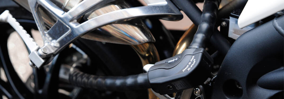 ABUS Steel-O-Flex - Motorbike / Scooter - Mobile Security