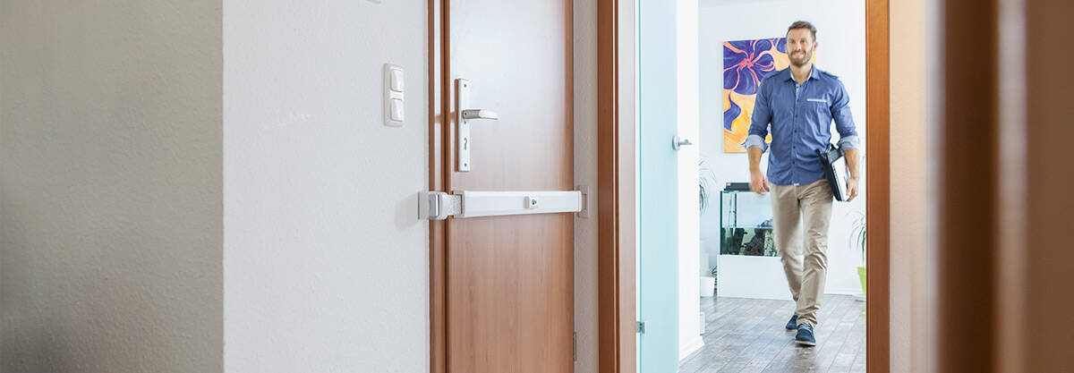 A Secure Home Creates a Feeling of Comfort and Safety - ABUS